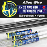 Alien Wire Rods - 4 pcs