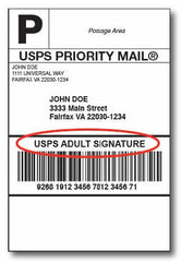 Adult Signature Confirmation - USPS