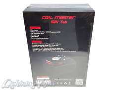 Coil Master 521 Tab - Ohm/Volt Meter & Table Mod