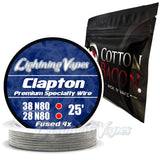 Wick & Wire Bundle - Clapton Wire 25' + Cotton Bacon V2