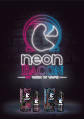 Neon Bacon - SLUSH'D & PUNCH'D - By Wick 'N' Vape