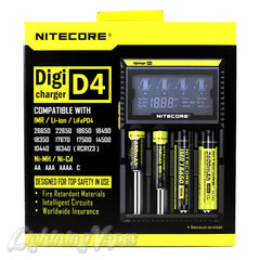 Nitecore D4 Digicharger / Intellicharger