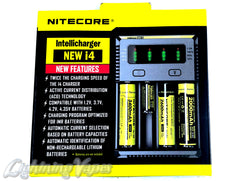 Nitecore i4 2016 NEW Intellicharger for Li-Ion / NiMH NiCD 18560 500 350 AA AAA C