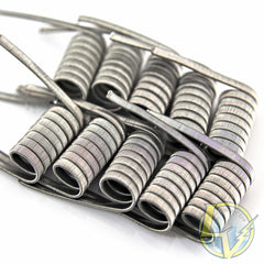 Clapton Wire Coils - Single Core KA1 / KA1 - 10 Pack