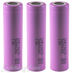 Samsung 30Q INR 18650 3000mAh 15A Flat Top Battery