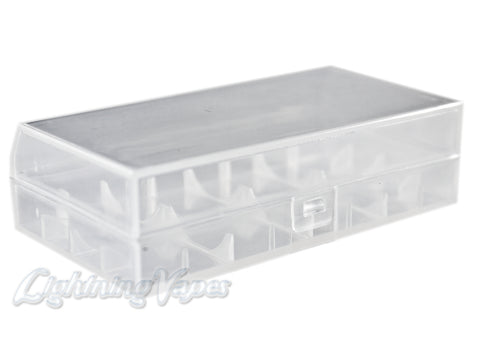 Battery Case - Small 2x 18650 Hard Plastic
