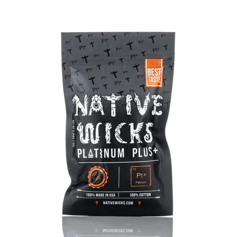 Native Wicks Cotton - Platinum Plus+