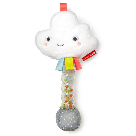 Skip Hop -  Silver Lining Cloud Rain Stick Rattle