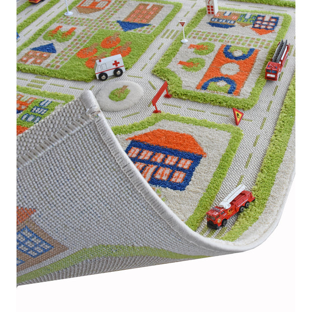 Traffic Green Rug (Medium)