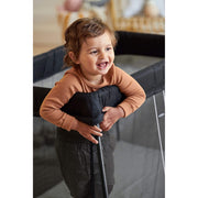 Travel Cot Easy Go (Black Mesh)