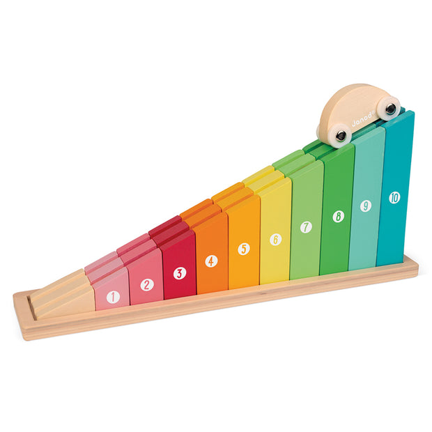 Counting Rainbow Track