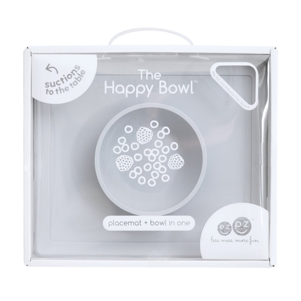 EZPZ - Happy Bowl (Pewter)