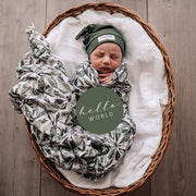Snuggle Hunny Kids - Milestone Cards (Evergreen & Olive)