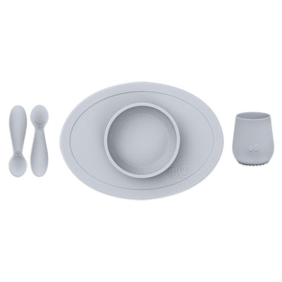 EZPZ - First Food Set (Pewter)