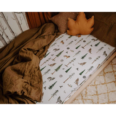 Snuggle Hunny Kids - Fitted Cot Sheet (Alpha)