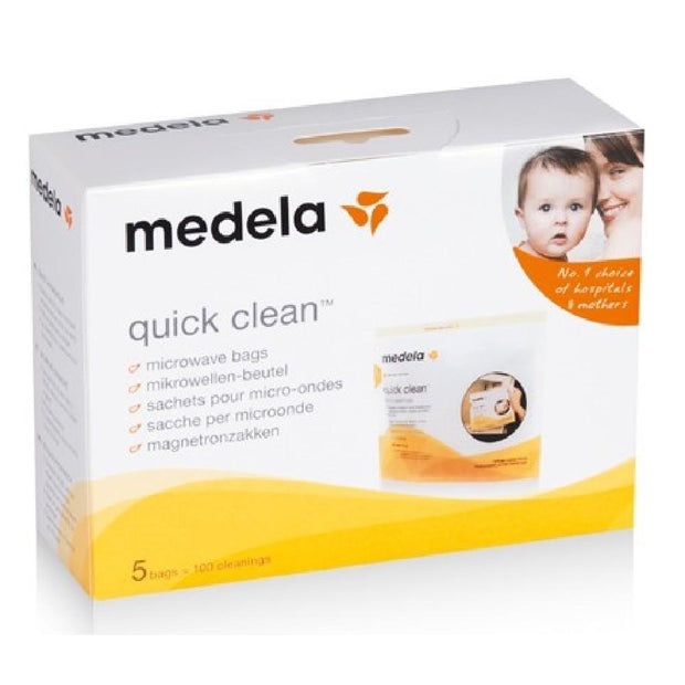 Medela - Quick Clean Microwave Bag (5 Pack)