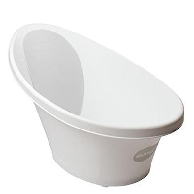 Shnuggle - Bath with plug (White)