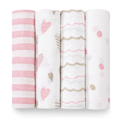 Heart Breaker Swaddles 4 Pack