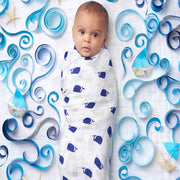 High Seas Swaddles 4 Pack