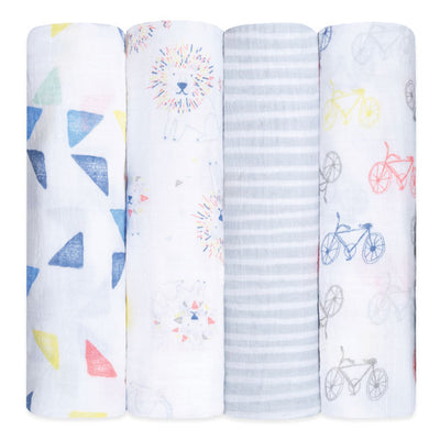 Leader of the Pack Swaddles 4 Pack