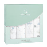 Night Sky Reverie Swaddles 4 Pack