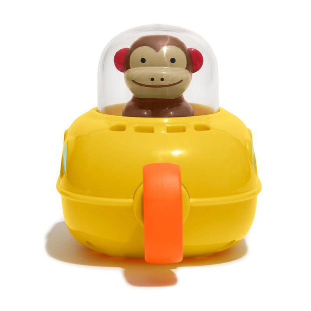 Skip Hop - Zoo Bath Pull & Go Monkey Submarine