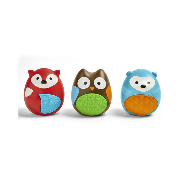 Skip Hop -  Explore & More Egg Shaker Baby Toy Trio