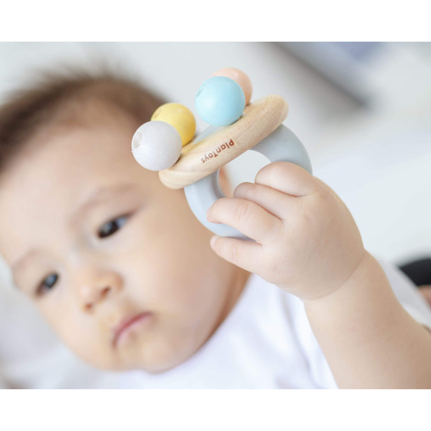 PlanToys - Bell Rattle (Pastel)