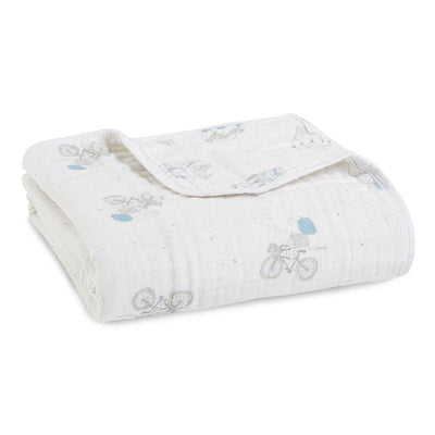 Night Sky Reverie Classic Muslin Dream Blanket