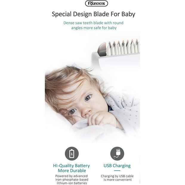Baby Hair Clipper with vacuum