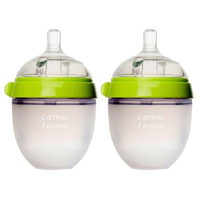 Comotomo Bottle - 150ml (Green) Twin Pack