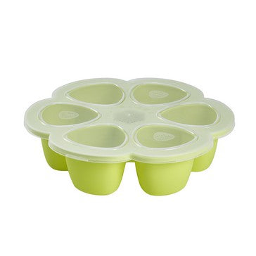 Beaba - Silicone multiportions 6 x 90 ml Neon
