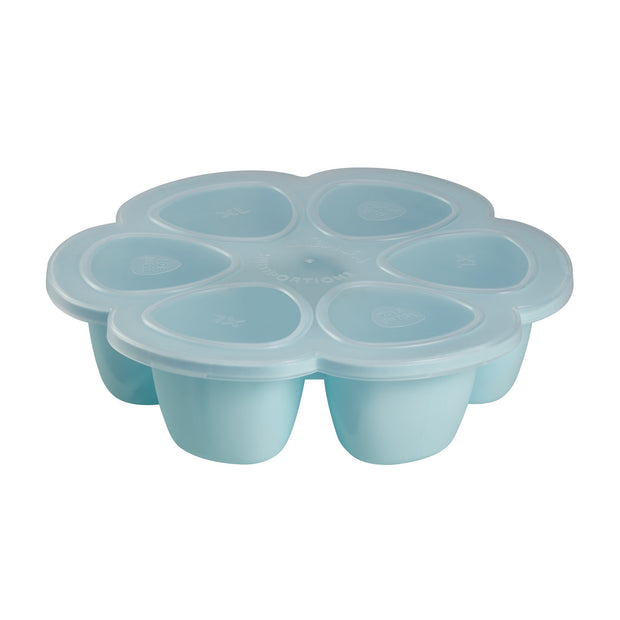 Silicone Multiportions 6 x 150ml Servings Blue