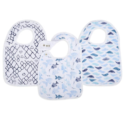 Snap Bibs Gone Fishing 3 Pack