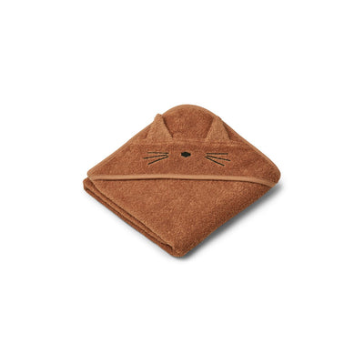 Augusta Toddler Hooded Towel (Cat Terracotta)