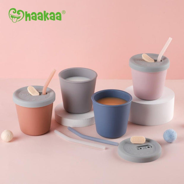 Silicone Sippy Straw Cup