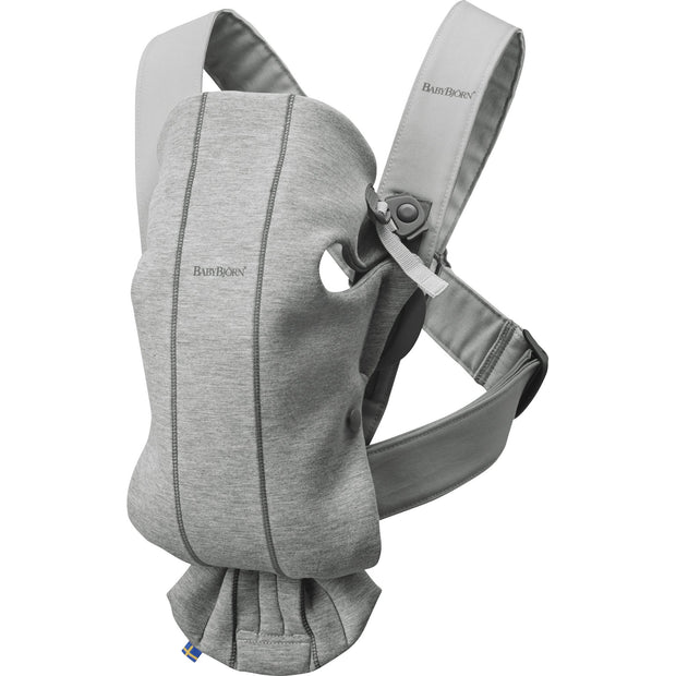 Baby Bjorn - Baby Carrier Mini (Light Grey Jersey)