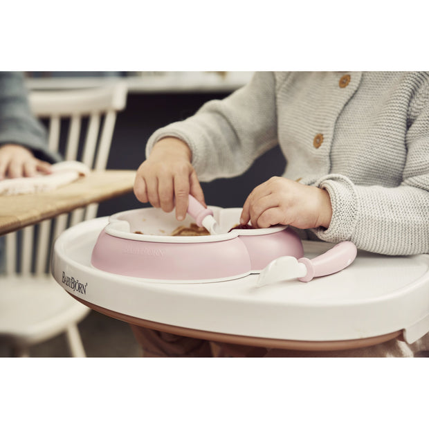 Baby Bjorn - Baby Spoon & Fork (Powder Pink)