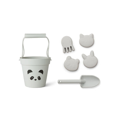 Dante Beach Set (Panda Dumbo Grey)