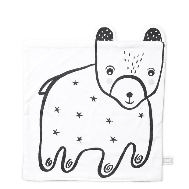Wee Gallery - Snuggle Blanket (Bear)
