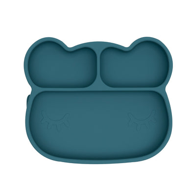 Bear Stickie Plate - Various Colours Available