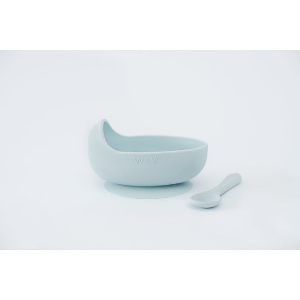Wild Indiana - Silicone Bowl Set (Duck Egg Blue)