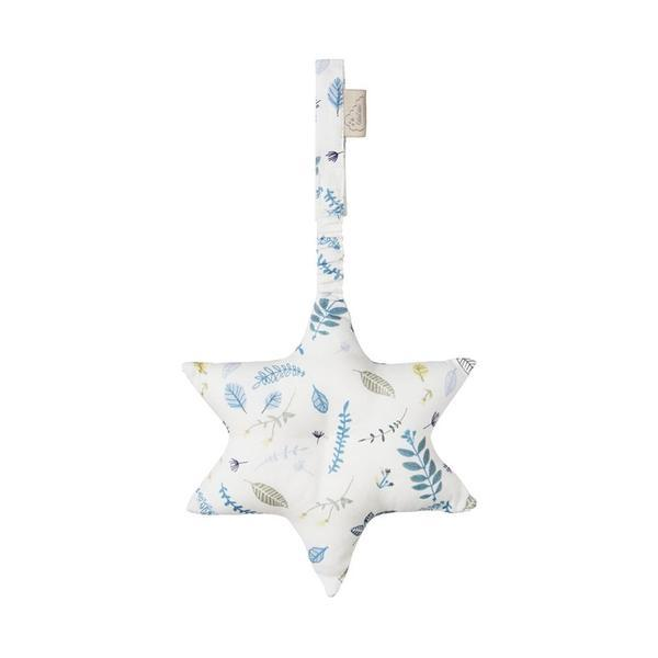 Cam Cam Copenhagen - Play Gym Toy Star (Pressed Leaves Blue)