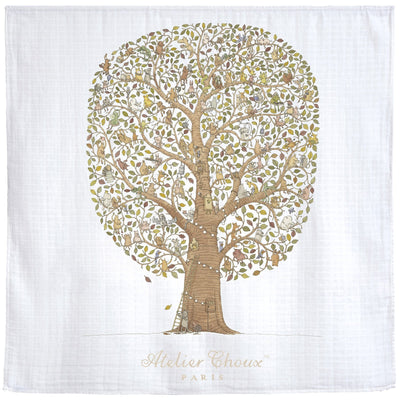 Atelier Choux - Friends and Family Tree Swaddle