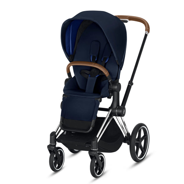 Priam Pram + Seat Pack (Chrome)