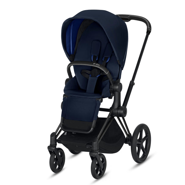 Priam Pram + Seat Pack (Black)
