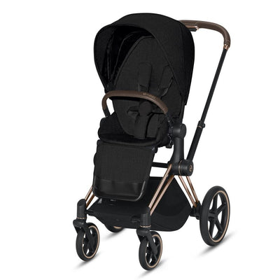 Priam Pram + Seat Pack (Rose Gold)