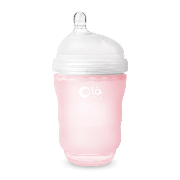 Olababy Bottle - 240ml (Rose)
