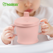 Silicone Sip and Snack Cup