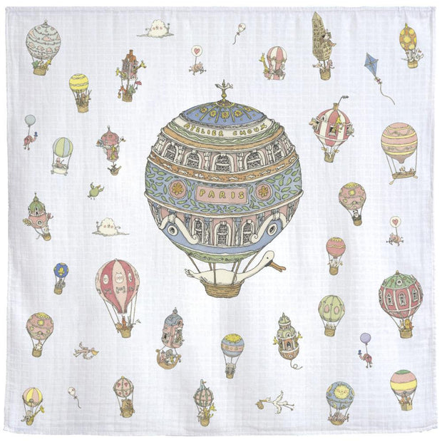 Atelier Choux - Hot Air Balloon Mini Swaddle